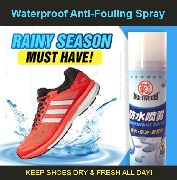 Waterproof Anti-Fouling Spray Nano Coat Repels Water/Dirt/Oil/Mud Fabric Seude