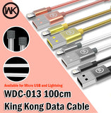 WK Design WDC-013 King Kong Data Charging Cable Android iPhone Micro Lightning