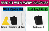 Bundle Set [1+1] White Wall Fix Repair Patch Touch Up Hole Kit with DIY Tools