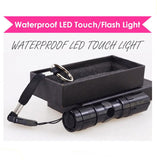 Waterproof LED Torch Torchlight Flash Flashlight Light Underwater Marine Lights