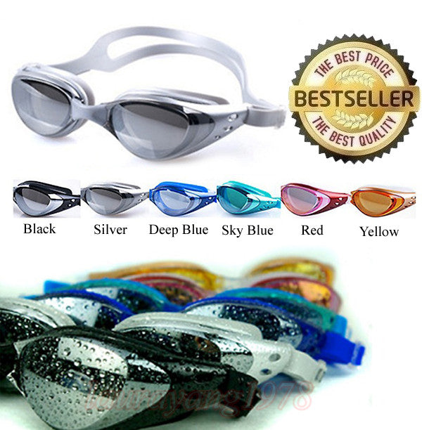 Prescription Swimming Goggles for Shortsighted Myopia / Normal Vision