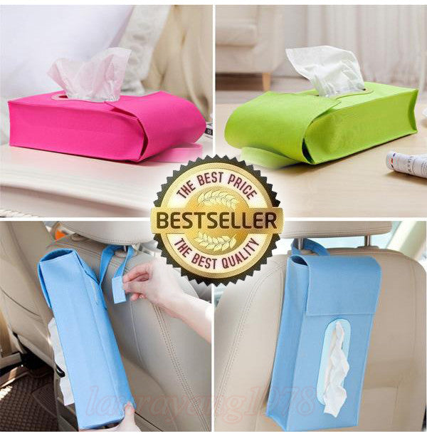 Multipurpose Hanging Pouch Tissue Storage Bag