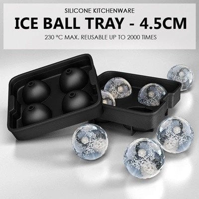 Silicone Ice Ball Tray 4.5CM