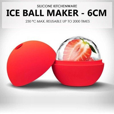 Silicone Ice Ball Tray 6CM