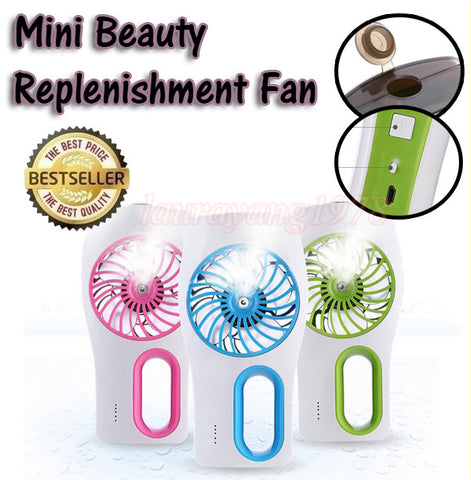 Mini Beauty Replenishment Hand Carry Fan