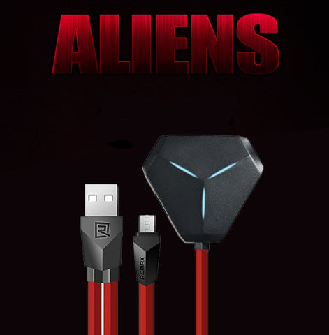 Remax RU-U3 Aliens 3 USB Hub and OTG