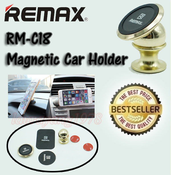 Remax RM-C18 360° Magnetic Car Phone Holder
