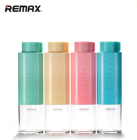 Remax RCUP-09 Enjoy Happy Plastic Bottle BPA and Plasticizer Free