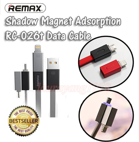 46241a59493 Remax RC-026t 2in1 Shadow Cable for Apple Lightning and Android Micro