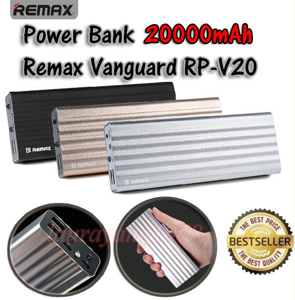 Remax Vanguard RP-V20 20000mAh Power Bank