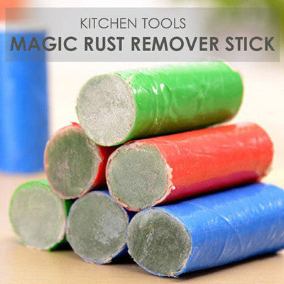 2PCS Rust Stain Remover Magic Stick