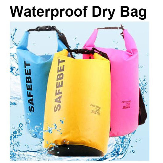 SafeBet WaterProof Dry Sling Bag 5L / 10L / 20L