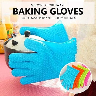 Reusable Silicone Gloves for Baking