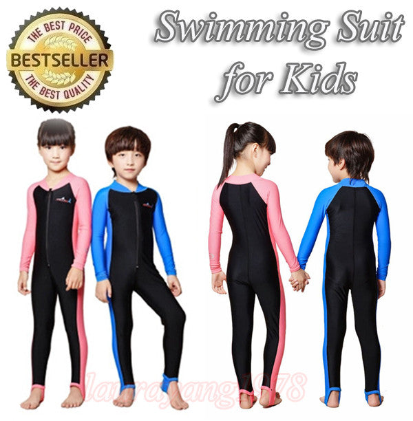 LS-801 Kids Snorkel Diving Swimming Suit Long Sleeve