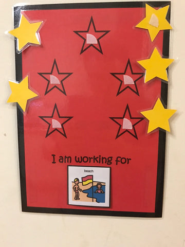 5 Star Chart - Red