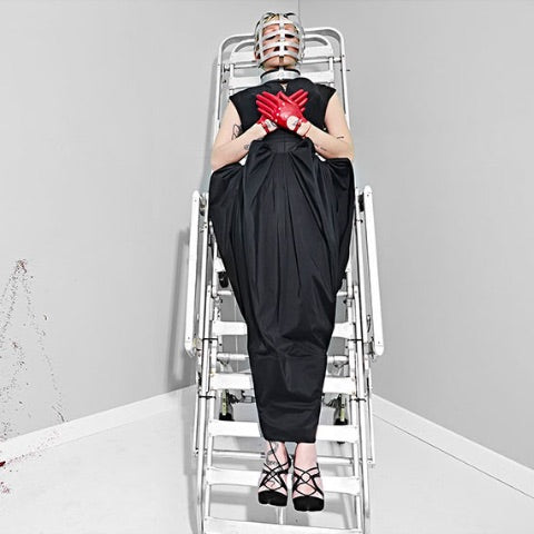 Brooke Candy: Face cage, An Le for NYLON Singapore