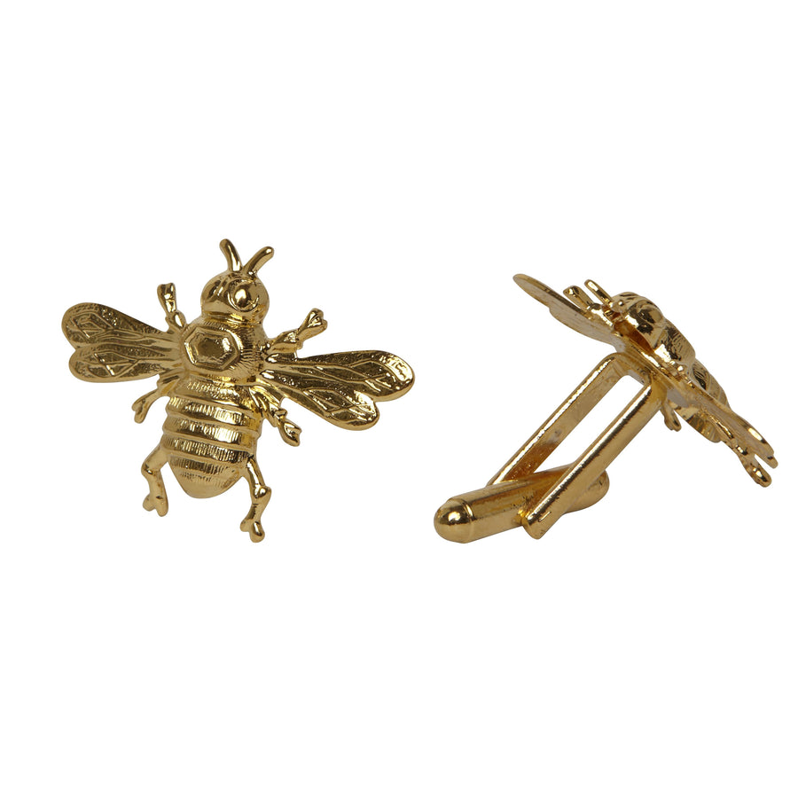 bee cufflinks Mordekai