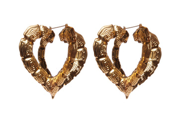 Heart Bamboo earrings earrings Mordekai