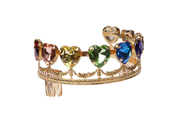RAINBOW HEART TIARA crown Mordekai