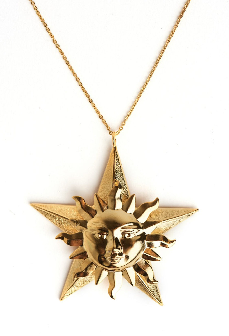 Star sun necklace Neckpieces Mordekai