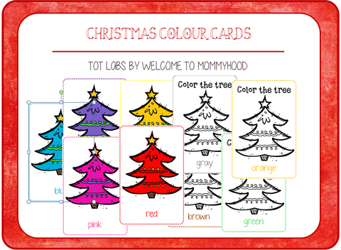 Christmas Tree Colour Sorting