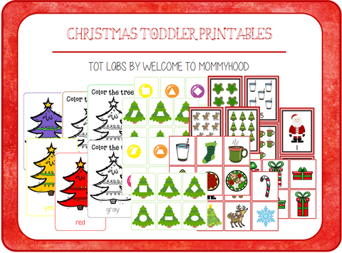 Christmas Toddler Printables