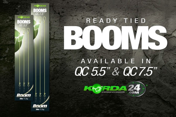 Korda Ready Tied Quick Change Booms