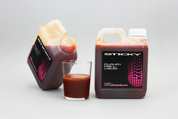 Sticky Baits Cloudy Krill Liquid 1 Litre