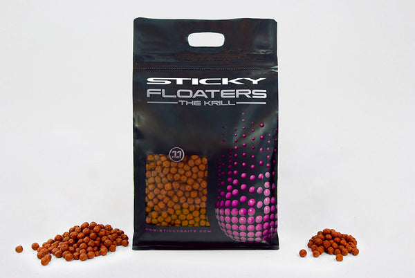 Sticky Baits 11mm Krill Floaters 3kg