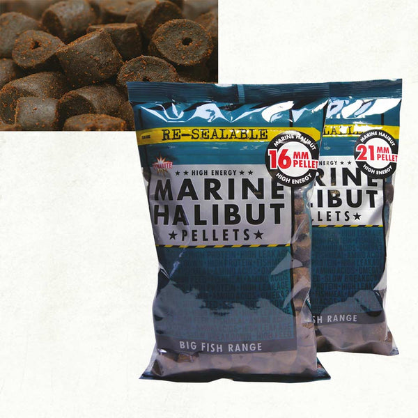 Dynamite Baits Pre-Drilled Marine Halibut Pellets 900g
