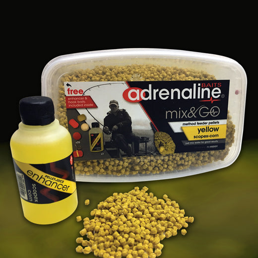 Adrenaline Method Mix & Go Tubs