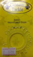 Catmaster Silicon Worm/Leech Stops