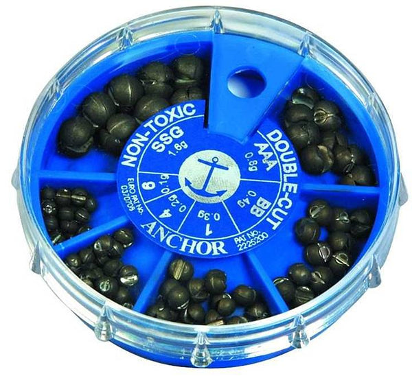 Anchor Tackle 6-Way Round Split Shot Dispenser