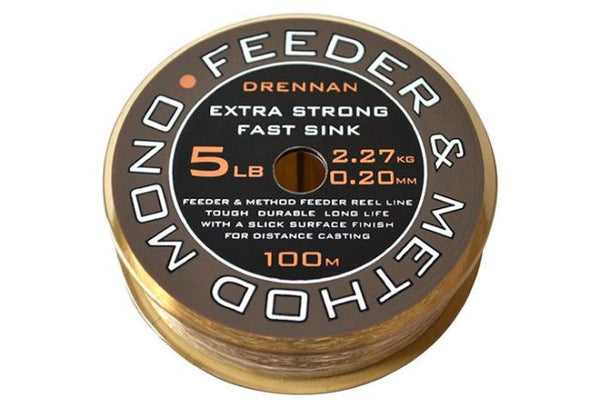 Drennan Method & Feeder Mono 100m Spool