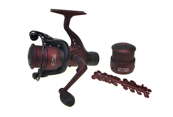 Drennan Red Range Float Reel 6-30 with spare spool