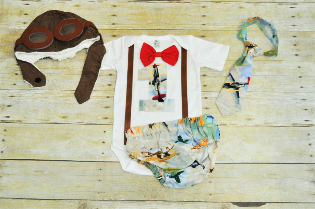 aviator vintage plane cake smash outfit, airplane cake smash, First  Birthday Outfit, 1st birthday outfit, banner, bunting,aviator hat, -  Ultimate Cake