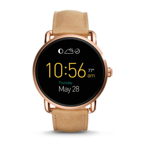 Fossil Q Wander FTW2102 123 Smart Watch Rose Gold