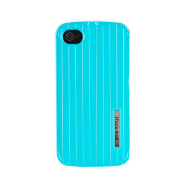 Anti Drop Protective Silicone Shell 3.5 inch for iPhone 4S (Sea Blue)