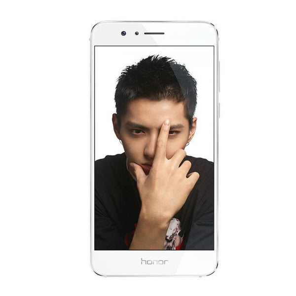 Huawei Honor 8 Dual 32GB 4G LTE White (FRD-DL00) Unlocked with 3GB RAM (CN Version)