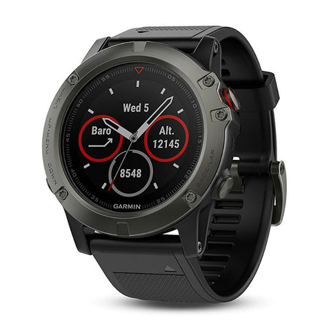 Garmin Fenix 5X 010-01733-00 Smartwatch (Slate Gray/Black)