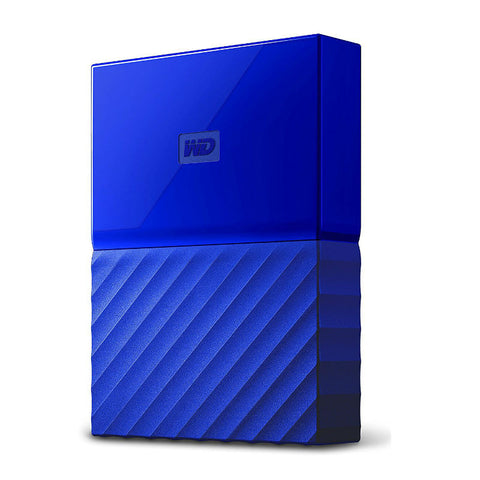 WD My Passport 4TB WDBYFT0040BBL External Hard Drive (Blue)