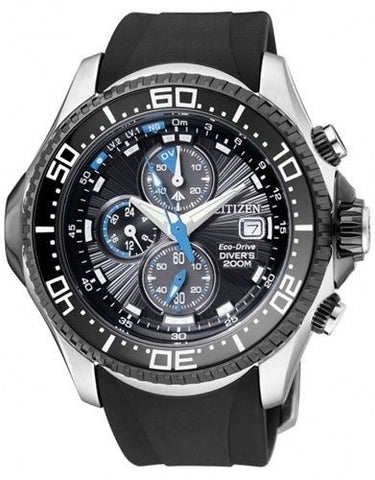 Citizen Eco-Drive Promaster Aqualand Chronograph BJ2110-01E Watch (New with Tags)