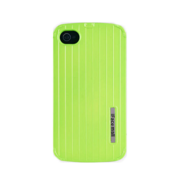 Anti Drop Protective Silicone Shell 3.5 inch for iPhone 4S (Fluorescent Green)