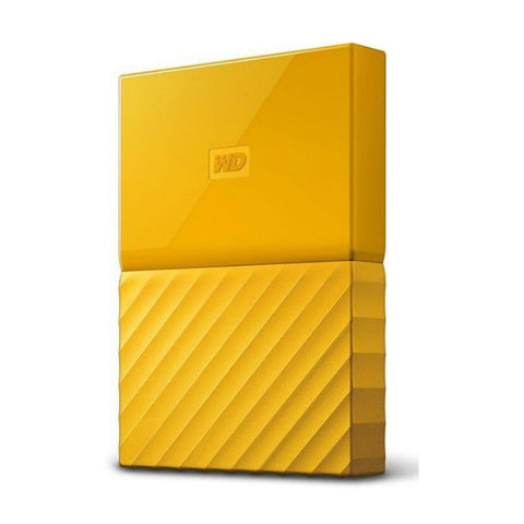 WD My Passport 4TB WDBYFT0040BYL External Hard Drive (Yellow)