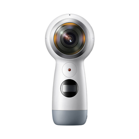 Samsung SM-R210 Gear 360 (2017) 4K Digital Camera (White)