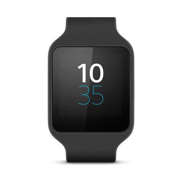 Sony SWR50 Leather Smart Watch 3 (Black)
