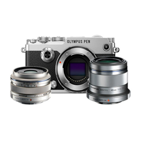 Olympus PEN-F Body Silver Digital Mirrorless Camera