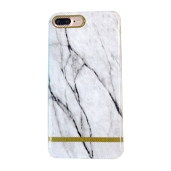 High-end Mobile Phone Shell 5.5 inch for iPhone 7 Plus (Marble White)
