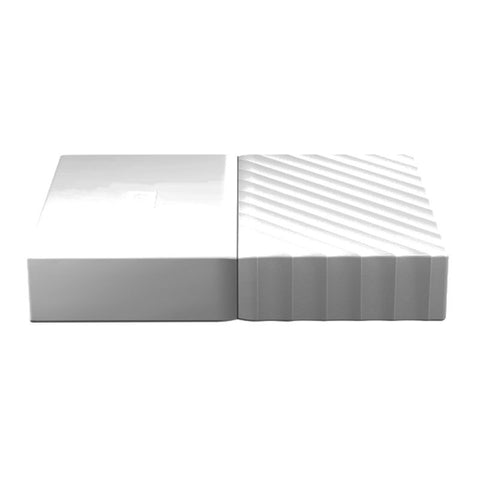 WD My Passport 4TB WDBYFT0040BWT-WESN Portable Hard Drive (White)