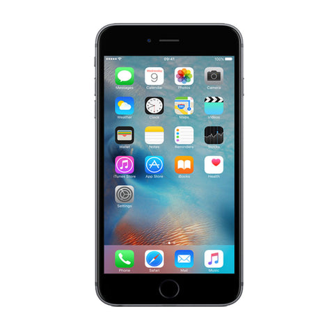 Apple iPhone 6 Plus 128GB 4G LTE Space Gray Unlocked (Refurbished - Grade A)